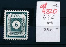 SBZ  Nr. 43 C  **     (ed4320   ) Siehe Scan - Zone Soviétique