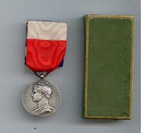 MEDAILLE HONNEUR TRAVAIL 1928 MINISTERE COMMERCE INDUSTRIE REP. FRANCAISE TBE - Autres Collections