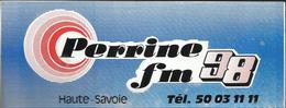 Autocollant - Perrine FM 98 Haute-Savoie - Autocollants