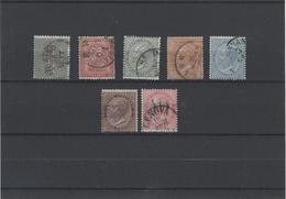 Italia Regno ,D.L.R ,usati ,tiratura Di Londra ,splendidi - 1861-78 Vittorio Emanuele II