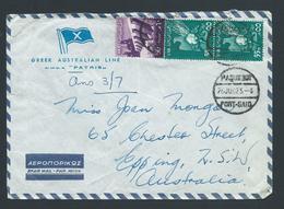 Egypt 1962 Paquebot Cover Port Said To Australia - Egypt