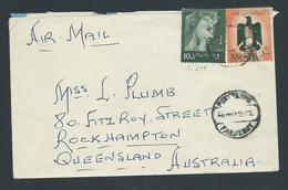 Egypt 1963 Paquebot Cover Port Said To Queensland Australia - Egypt
