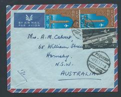Egypt 1965 Paquebot Cover Port Said To NSW Australia - Egypt