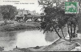 La Cité De Carcassonne (l'Aude) - Le Pont Vieux - Photo Michel Jordy - Carte N° 10 - Limoux