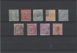 Italia Regno ,serie Completa Usata ,eccellente - 1861-78 Vittorio Emanuele II
