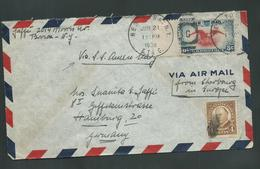 United States US 1938 Queen Mary Ship Cover To Hamburg Germany - United States