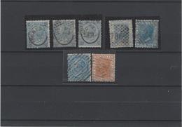 Italia Regno ,usati ,7 Pezzi ,splendidi - 1861-78 Vittorio Emanuele II