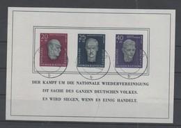 DDR , Block 15 Mit Tagesstempel - DDR