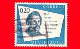 VENEZUELA - Usato - 1960 - 100 Anni Della Morte Di Agustin Codazzi (1959) - 0.20 - Venezuela