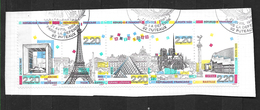 FRANCE 2583A Panorama De Paris Monuments De La Capitale La Défense Bastille Notre Dame Tour Eiffel Louvre   . - France