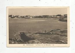 Cp, 17, PONTAILLAC ,la Plage Vue Des Rochers,vierge, Ed. LL ,n° 380 - France