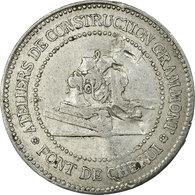 Monnaie, France, Compagnie Des Tramways Electriques, Limoges, 10 Centimes, TB+ - Monétaires / De Nécessité