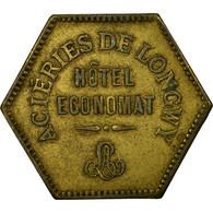 Monnaie, France, Aciéries De Longwy, Hôtel Economat, Longwy, 1 Franc, 1883 - Monétaires / De Nécessité