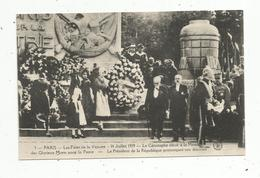 Cp, Militaria , 75,PARIS ,les Fêtes De La Victoire,14 Juillet 1919 , Le Cénotaphe élevé à La Mémoire Des Glorieux Morts - War 1914-18