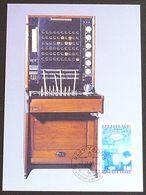 LIECHTENSTEIN 1998 Mi-Nr. 1189 Maximumkarte MK/MC 165 - Cartes-Maximum (CM)