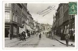 CPA 02 SAINT-QUENTIN LA RUE D'ISLE - Saint Quentin