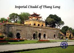 Vietnam Imperial Citadel Of Thang Long UNESCO New Postcard - Vietnam