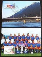 LIECHTENSTEIN 1998 Mi-Nr. 1171/72 Maximumkarten MK/MC 158 - Cartes-Maximum (CM)