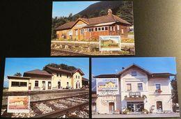 LIECHTENSTEIN 1997 Mi-Nr. 1155/57 Maximumkarten MK/MC 152 - Cartes-Maximum (CM)