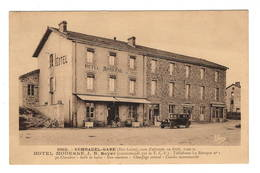 43 HAUTE LOIRE - SEMBADEL GARE Hôtel Moderne JB Boyer - Autres Communes