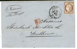 16391 - 38 De Couleur Brune - 1849-1876: Période Classique