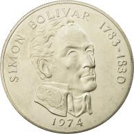 Monnaie, Panama, 20 Balboas, 1974, U.S. Mint, SUP, Argent, KM:31 - Panama