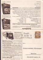 Germany Deutsches Reich EKAWERK Bestellkarte Slogan 'Denkt An Die Arbeitsschlacht' LEIPZIG 1934 Hindenburg Stamp - Briefe U. Dokumente