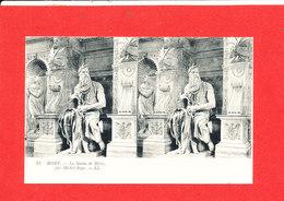 VATICAN ROME ROMA Cpa Stéréoscopique Statue De Moise Par Michel Ange   13 LL - Vatican