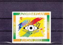 Azerbajan - Azerbaijan - Azerbaïdjan - Europa Cept - 2003 - Carnet C460a ** - 2003
