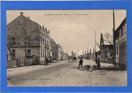 67 BAS RHIN - MOMMENHEIM La Grand'rue (voir Descriptif) - Francia