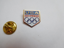 Beau Pin's , JO , Jeux Olympiques , USA 1992 - Jeux Olympiques