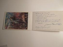 Cartolina DOPPIA  A Beneficio Museo Storico BERSAGLIERI Roma Fotoinc. S.Michele Venduta L.5,00 - Militari