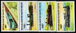 CG0598 On Walter 1984 Various Trains 4V MNH - Stamps