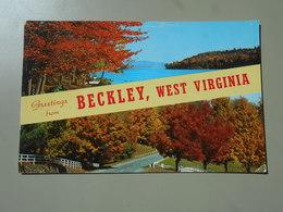 ETATS UNIS VA VIRGINIA GREETINGS FROM BECKLEY - Etats-Unis