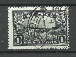 Estonia Estland 1933 Narva Water Fall Michel 98 O - Estland