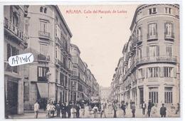 MALAGA- CALLE DEL MARQUES DE LARIOS - Málaga