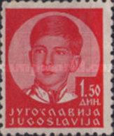 USED  STAMPS Yugoslavia - King Peter II  -  1935 - 1931-1941 Kingdom Of Yugoslavia