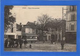 94 VAL DE MARNE - IVRY Place Parmentier, Tramway - Ivry Sur Seine