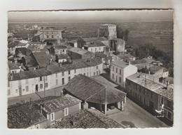 CPSM MORNAC SUR SEUDRE (Charente Maritime) - En Avion Au-dessus De.........les Halles L'Eglise - France