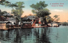 ¤¤  -    CHINE   -   A Beautiful River  -  Scène In China      -  ¤¤ - China