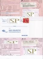 """Portugal Algarve Faro CDP 1 2 3 Variedade De Marca De Dia """"Tipo 1944"""" Centro Distribuição Postal - Storia Postale"""