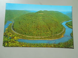 ETATS UNIS VA VIRGINIA NEW RIVER CANYON AS VIEWED FROM OVERLOOK ..... A SHORT DRIVING DISTANCE FROM BECKLEY.... - Etats-Unis