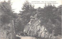 FR43 CRAPONNE - 2159 - Route De Bellevue à VORREY - Animée - Belle - Craponne Sur Arzon