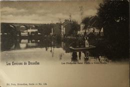 Uccle - Stalle (Bruxelles) Pecheries Saint Pierre Ca 1900 - Ukkel - Uccle
