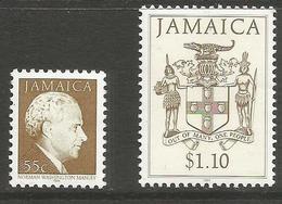 Jamaica - 1994 Norman Manley & Coat Of Arms MNH **   SG 685cB & 690cB - Jamaica (1962-...)