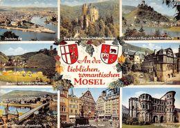 Germany Mosel Multiviews Cochem Mit Burg Und Ruine Winneburg Bernkastel Kuest - Germany