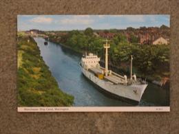 MANCHESTER SHIP CANAL, WARRINGTON - Commercio
