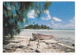 Carte Postale Les Ilos De La Ceinture De Corail - Polinesia Francese
