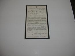 Rijkswachter René Debrabandere (Moorsele 1894-Melsbroek 1928) - Devotieprenten