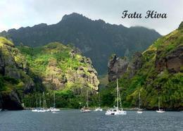 Marquesas Islands Fatu Hiva Island New Postcard - Polynésie Française